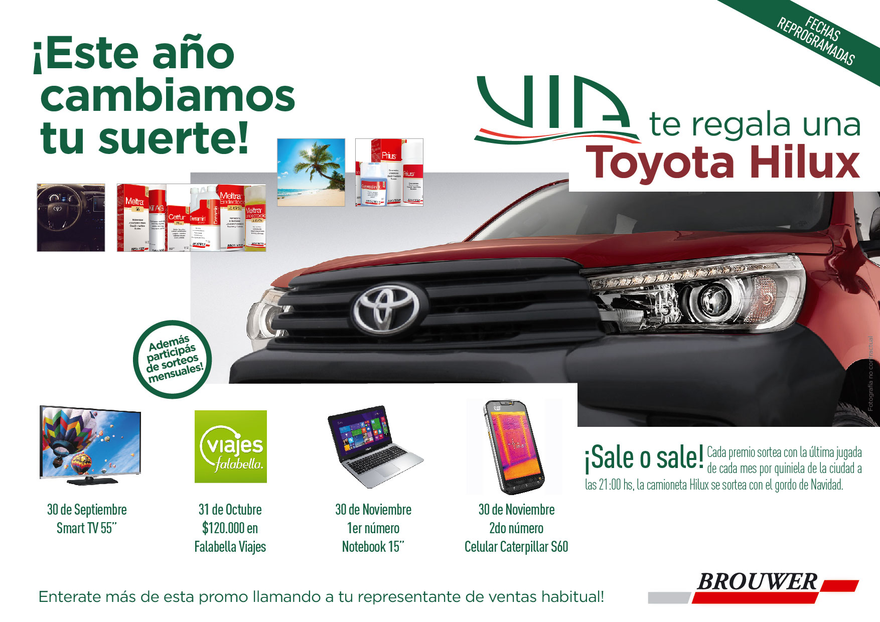 PROMO TOYOTA HILUX | BROUWER Y VIA